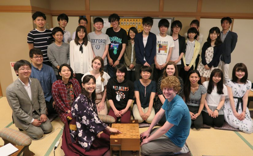 法政大学課外教養プログラム将棋体験教室を開催しました